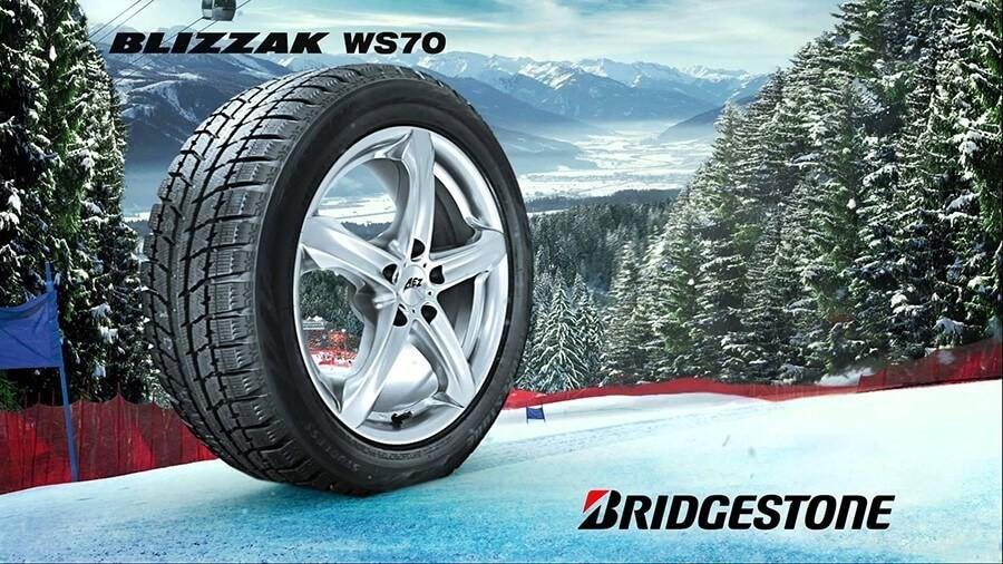Žieminės Bridgestone padangos
