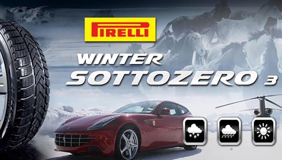 Žieminės Pirelli padangos